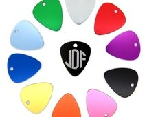Monogramable Personalized Classic and Colorful Guitar PIck