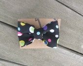 Polka Dot Fun! Hair Bow/Hair Tie