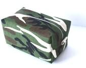 Makeup Bag - Camo Print Cosmetic Bag - Camouflage Bag - Waterproof Makeup Bag