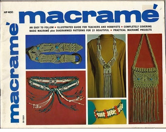 Macrame' Macrame'  Pattern Book HP-400