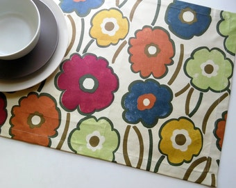 Table Runner, Home Deco, Party, Cotton/Floral.