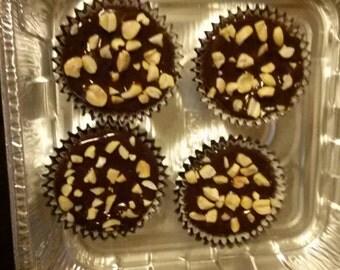 Peanut Butter Devils Food Cupcakes