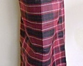 man's sarong cherry red check muslim Pt5