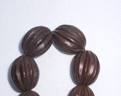 Dark Brown Wooden Beads...