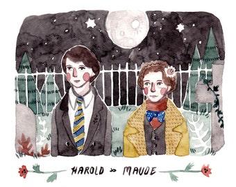 Harold and Maude print A6