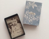 Miniature Cabinet Card Shadowbox Art Magnet Clearence