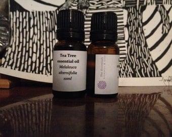 Tea tree essential oil 10ml undiluted pure