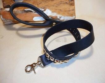 Dog Leash- Swivel Clasp-Black- Comfort Handle