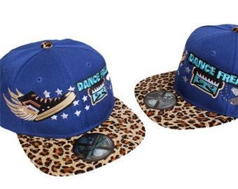 Dance Freak Snapback Tiger Blue