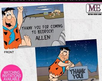 Flintstones Thank You Cards, The Flintstones cards, Fred Flintstone, Flintstones thank you notes,The Flintstones Thank You Card