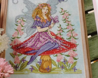 G- TOADSTOOL FAIRY - cross stitch pattern only