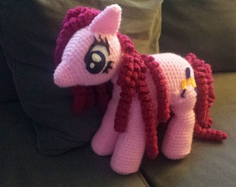My Little Pony Pinkie Pie Amigurumi