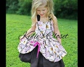 Pink & Black Camouflage MiniBelle Dress - Halter Style - Hunting - Country - Rustic - Pageant - Girls - Party - Birthday