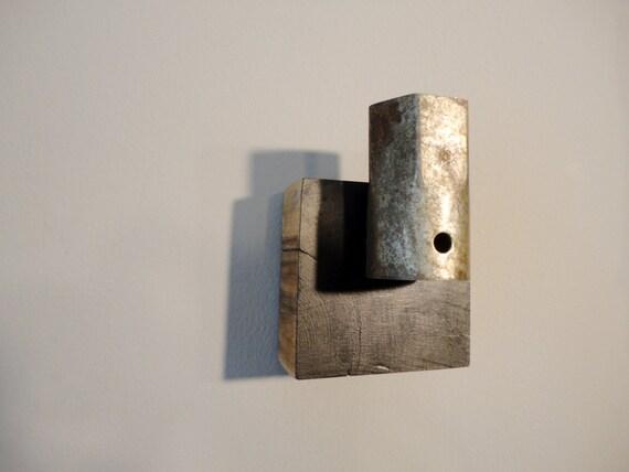 Modern Coat Hook modern coat hook: spark. lacquered metal spark plug mounted