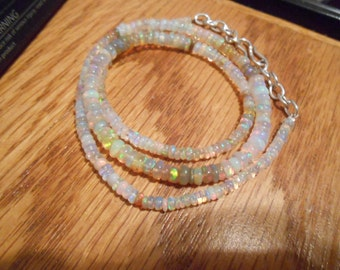 GREAT COLOR Ethiopian Welo Opal Necklace