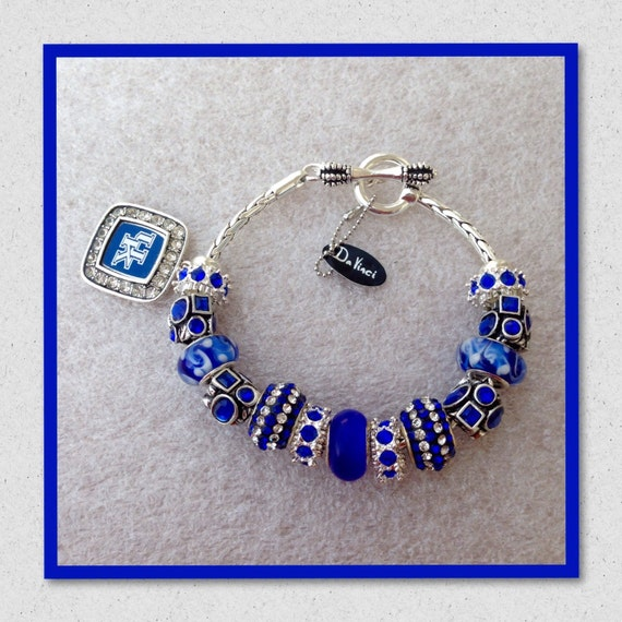 Davinci Charm Bracelet: European Charm Braceket University Of KY Wildcat Charm