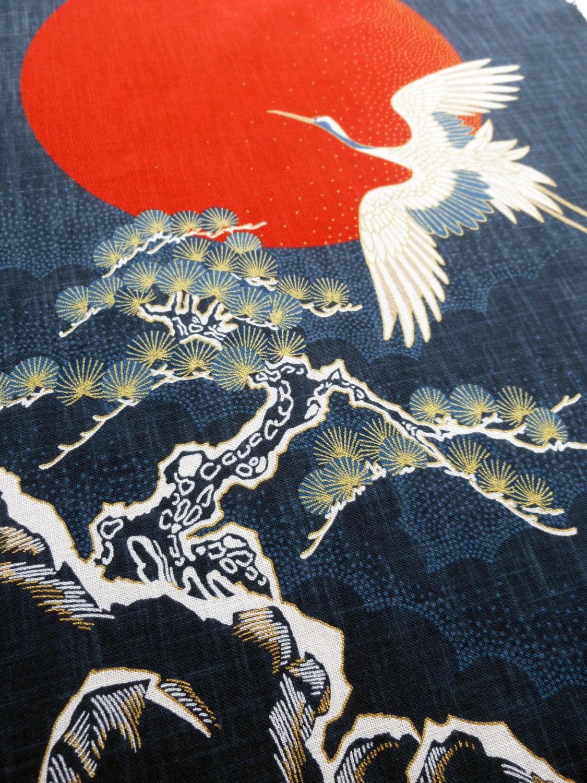 Japanese Noren Indigo Blue Painel Curtain Indigo Blue