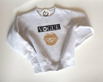Girls- Sweat Shirts- Vogue Lip- Girls