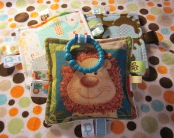 Baby, Baby toys, Crinkle toys, crinkle paper, teething toy, Jungle and zoo prints, sellers choice, girl, boy or neutral