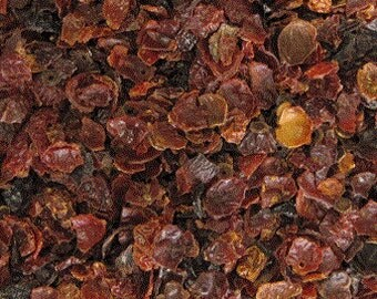 Rose Hips, Seedless and Cut, Dried Herb, Dried Fruit