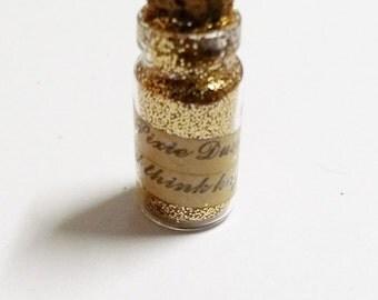 Pixie Dust Pendant Vial Pendant Wishing Dust Pendant Vial Bottle