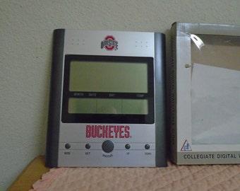 SALE/Collegiate Ohio State Digital Wall / Table / Clock / New In Box!