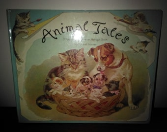 Vintage Animal Tales Pop-up Children's Book