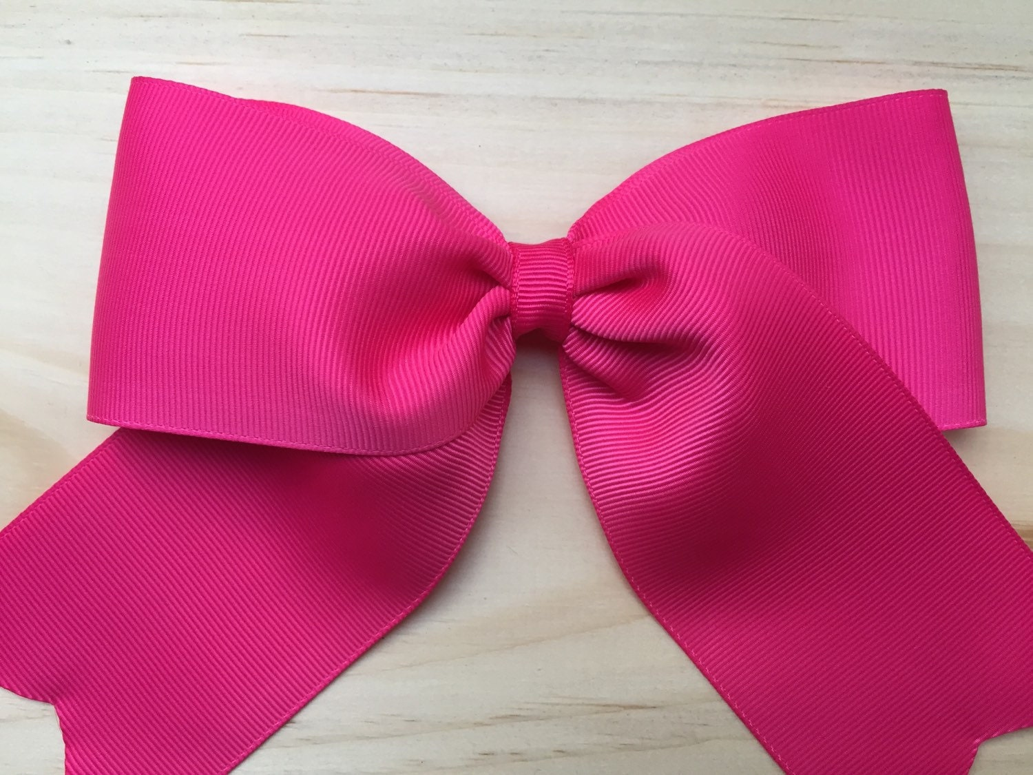 0999b330d5f7 Extra large 6 inch hair bow - hot pink bow