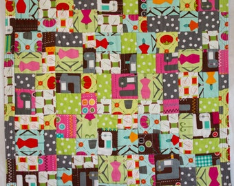 No. 27, Fractured Four-Patch Quilt (Copyrighted), Fashionista