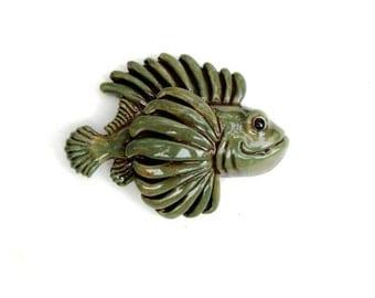 Green Tiger Fish - Porcelain Tile