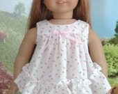 Baby Doll Pajamas for American Girl Dolls