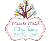 Made to match Etsy Icon
