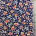 1 yard Vintage Floral - by Michael Miller - Margie - PC6730-Navy 100% cotton