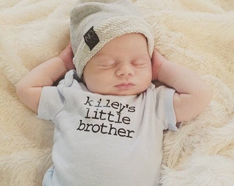 Personalized Little Brother/Sister Onesie