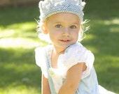 Knit Princess Crown
