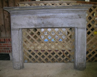 Old Mantle Piece