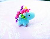 kawaii rainbow unicorn charm