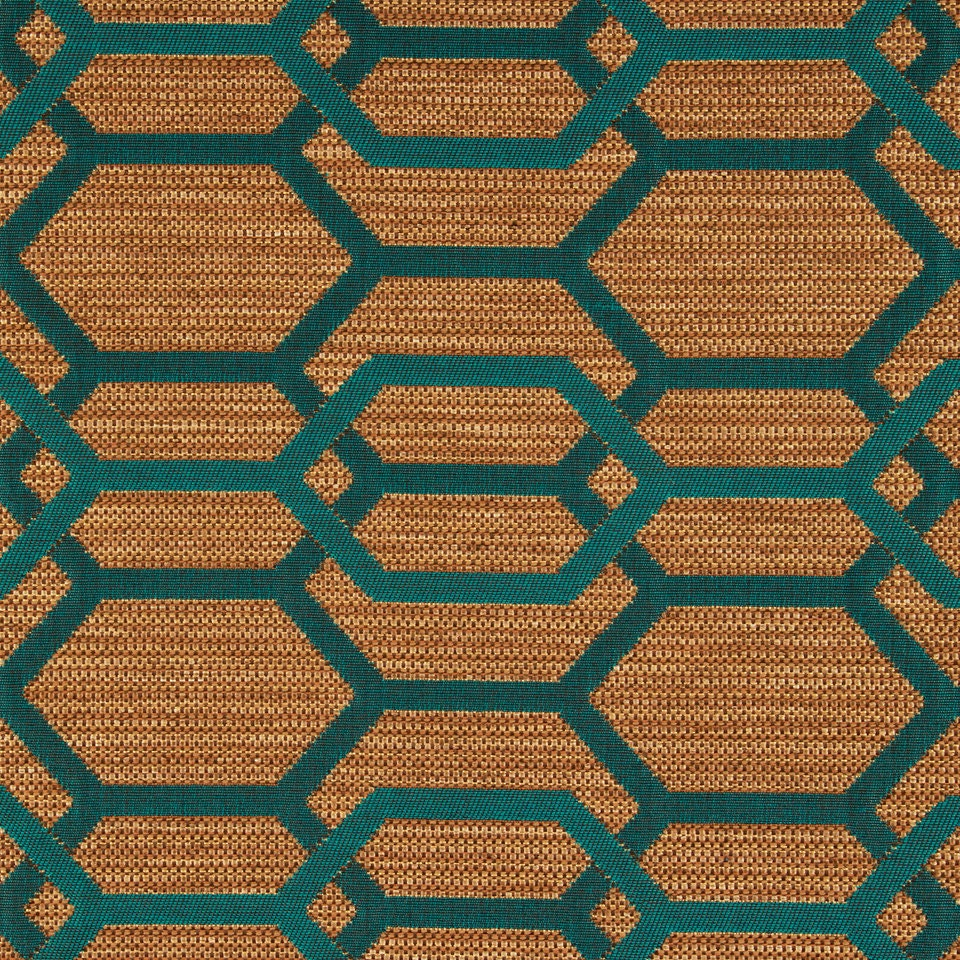 Teal Green Geometric Upholstery Fabric Teal Furniture Fabric - Designer upholstery fabric teal