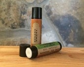 Creme Brulee All-Natural Beeswax Lip Balm. Local Beeswax from the Beekeeper. Organic Shea & Cocoa Butters.