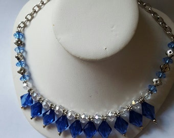 Cleopatra's stunning Blue Jewels Necklace