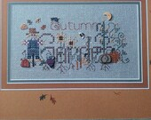 Cross stitch graph - 'Autumn Garden' by Shepherd's Bush