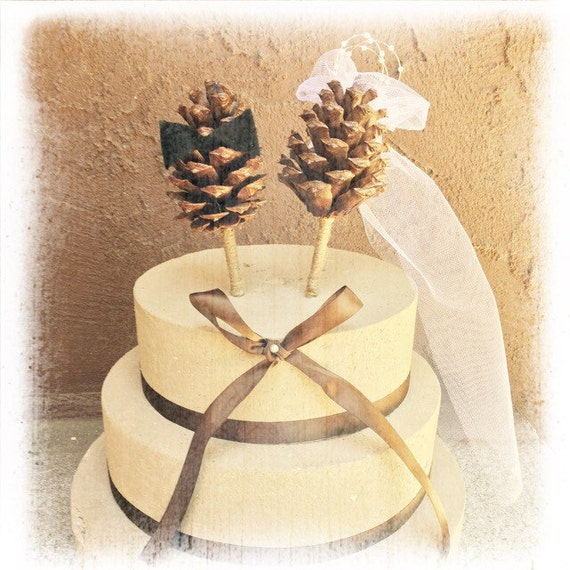 pine garden wedding cake review pine cone wedding cake topper 18527