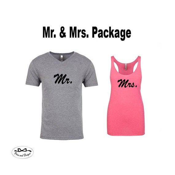 Honeymoon Shirts, Mr and Mrs Shirts, Husband and Wife Shirts, Just Married Shirts, Couples Workout Shirts, Hubby Shirt, Wifey Shirt, Gifts