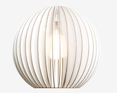 AION large colored wooden pendant light, lampshade, hanging light
