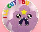 Lumpy Space Princess Hoop 8 inches