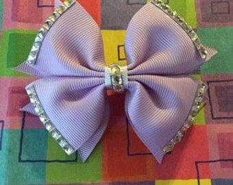 Bling Purple Bow