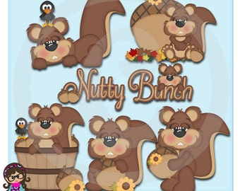 2015 A Bunch Of Nuts Clip art  Clipart Graphics  Commercial Use
