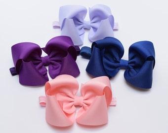 Baby Bow Headband, Hair Bows, Hair Bow Headband, Baby Headband, Girls Headbands, Toddler Headbands, Big Baby Bows, Girls Hair Bows, HB5, 500