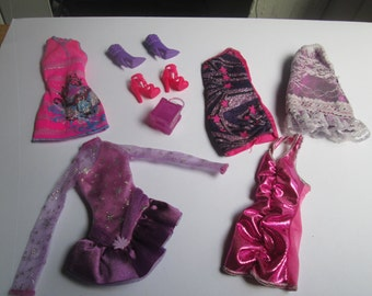 Barbie Clothing Lot / 5 outfits as shown / Item 10-185