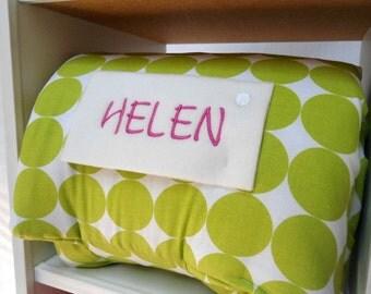 Nap Mat Cubby Kindergarten Preschool Daycare Pillow Blanket Children Bedding Toddler School Supplies Monogrammed Sleeping Bag Gender Neutral